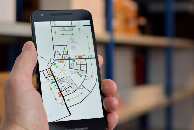 Indoor positioning small